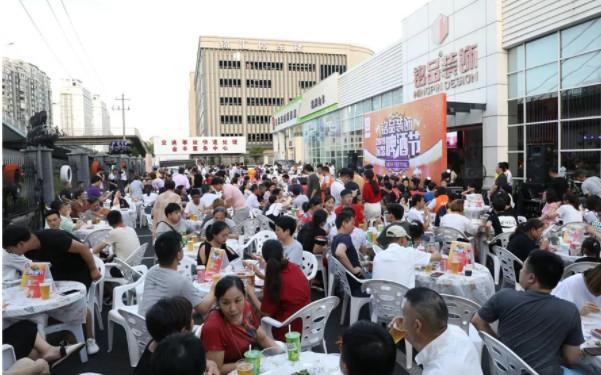杭州家装啤酒节现场人声鼎沸