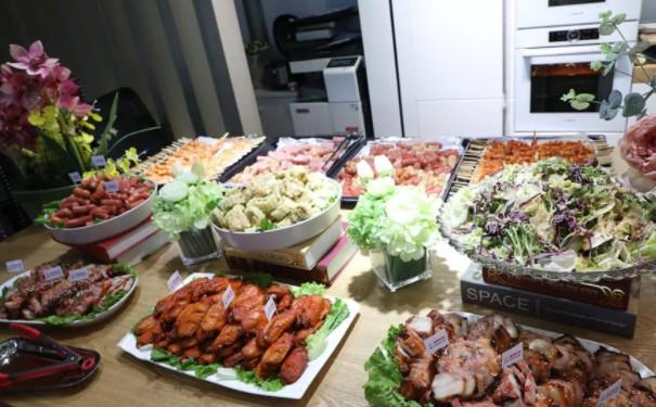 杭州家装啤酒节现场食品